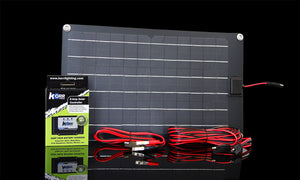 Hard Korr 15W 12V or 24V Trickle Charge Solar Panel