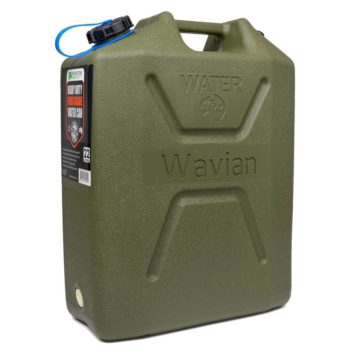 Wavian OD Green 5 Gallon Water Can