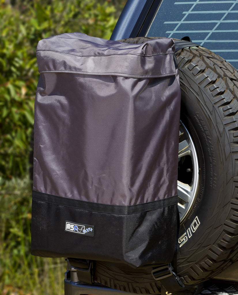 MSA 4X4 Rear Wheel Rubbish Bin