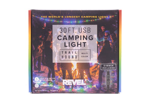 Revel Gear Trail Hound 30ft Camping Light Multi-Color with Dimmer