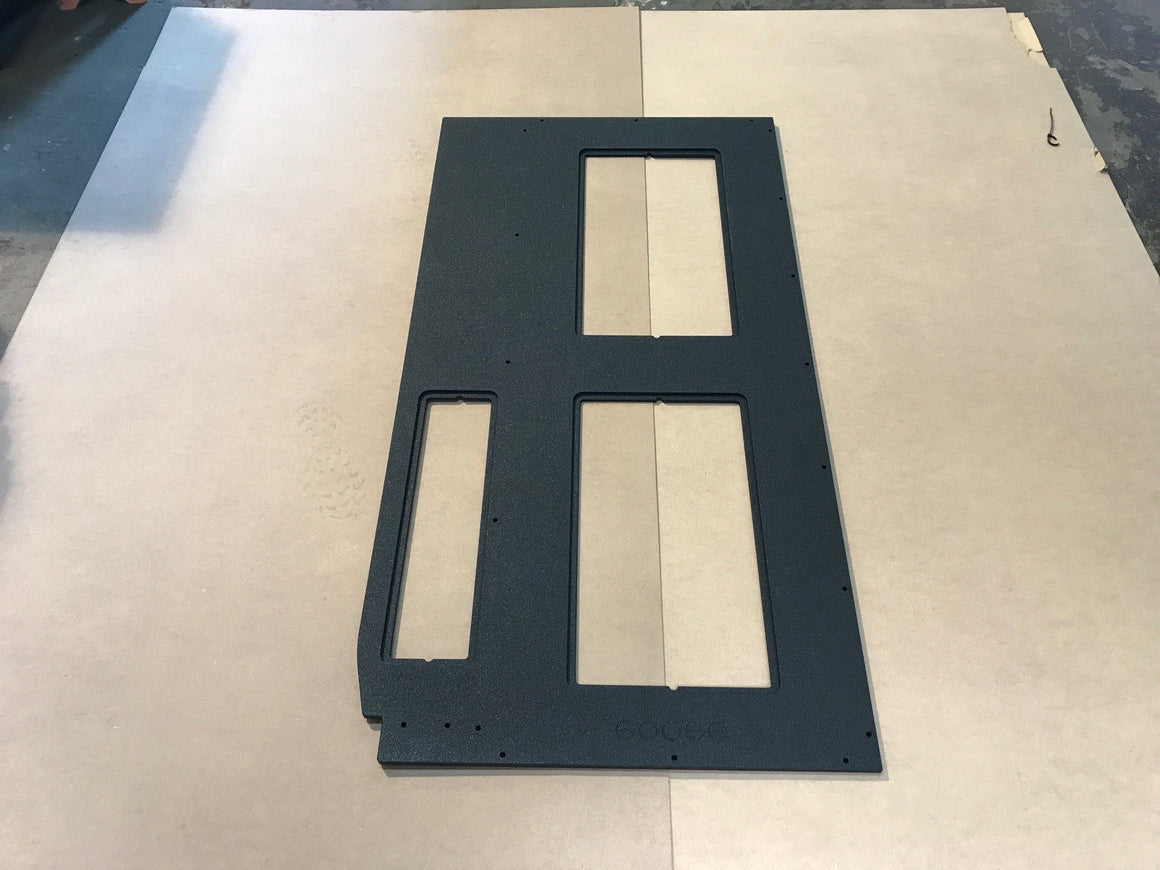 Tacoma System - Module Top Plate - 3 Access Doors