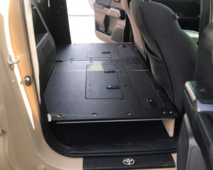 Tacoma Double Cab 2nd Row Seat Delete for 2nd and 3rd Generations