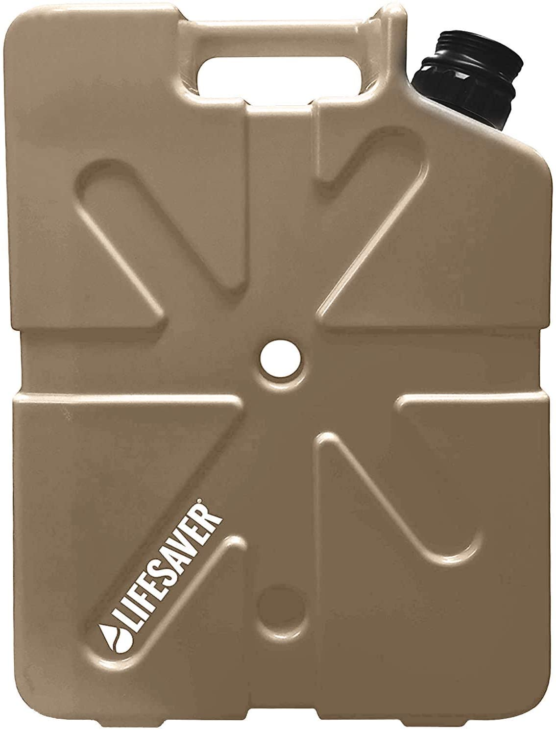LifeSaver Portable Water Filter Jerry Can 20L (Tan)