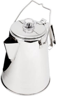 Glacier Stainless 8 Cup Coffee Percolator