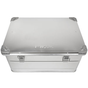 Swiss Link Aluminum Storage Box - Medium