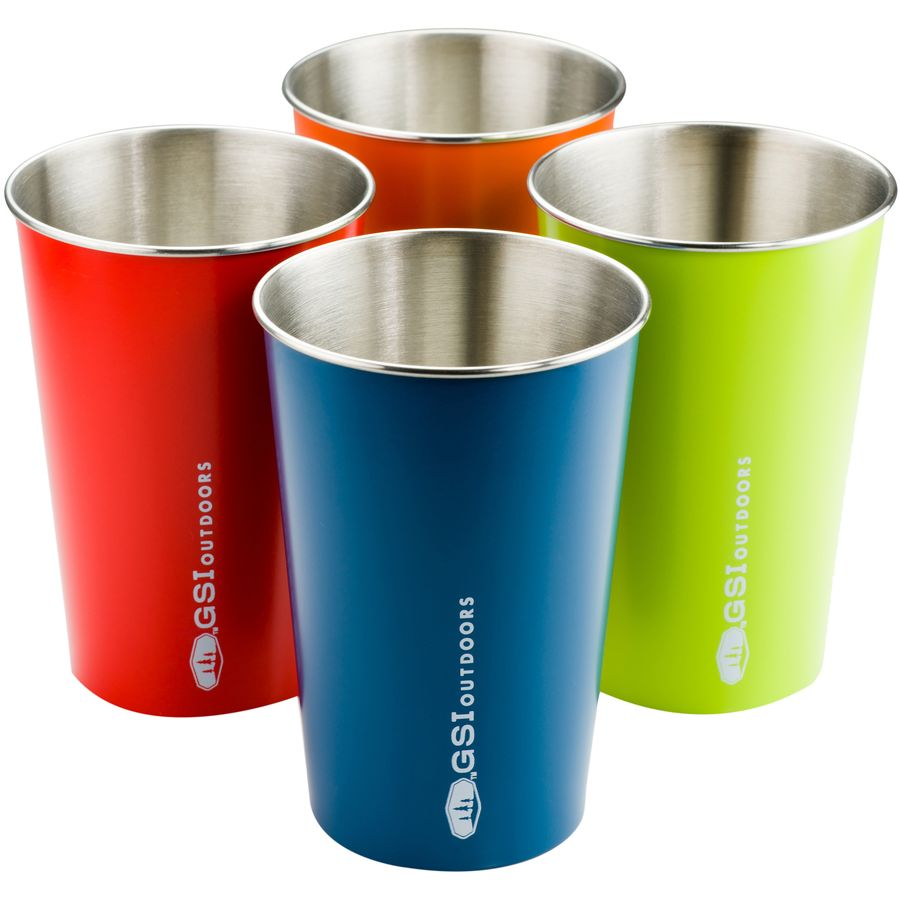 Glacier Stainless Pint Set