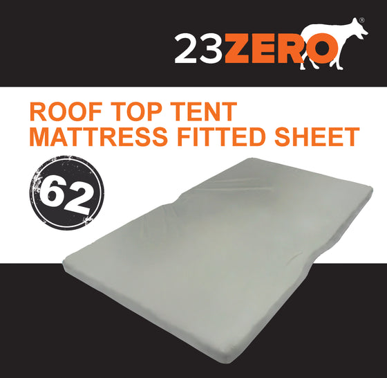 23ZERO ROOF TOP TENT MATTRESS FITTED SHEET 62″