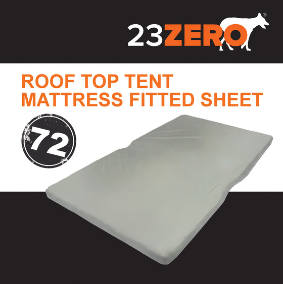 23ZERO ROOF TOP TENT MATTRESS FITTED SHEET 72″