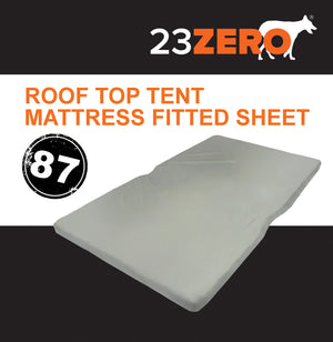 23ZERO ROOF TOP TENT MATTRESS FITTED SHEET 87″