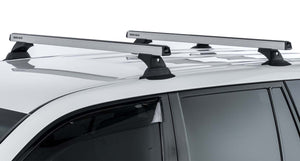 Rhino Rack Heavy Duty RCH Silver 3 Bar Roof Rack