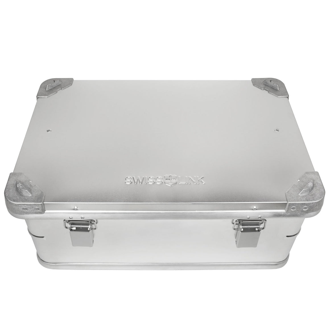 Swiss Link Aluminum Storage Boxes - Small