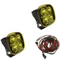 Squadron-R Racer Edition, Pair Amber, Driving/Combo LED