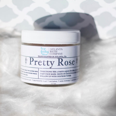 Pretty Rose Face Mask