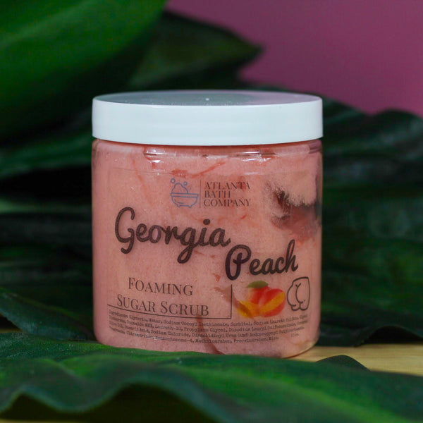 Georgia Peach - Sugar Scrub