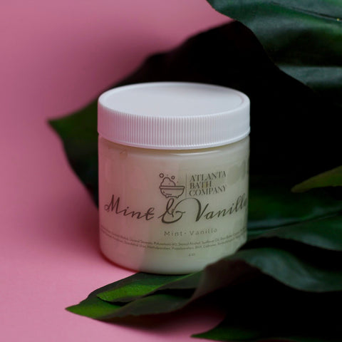 Mint and Vanilla Body Cream
