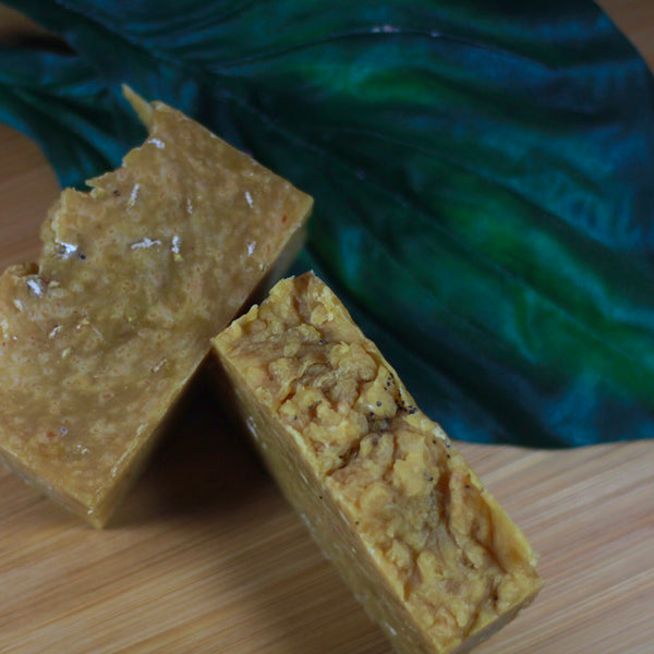 Carrot and Oatmeal Soap