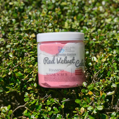 Red Velvet Sugar Scrub