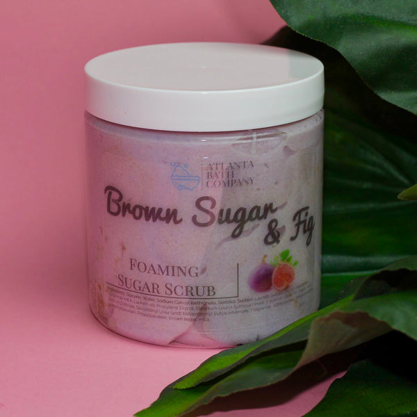 Brown Sugar and Fig Sugar Scrub