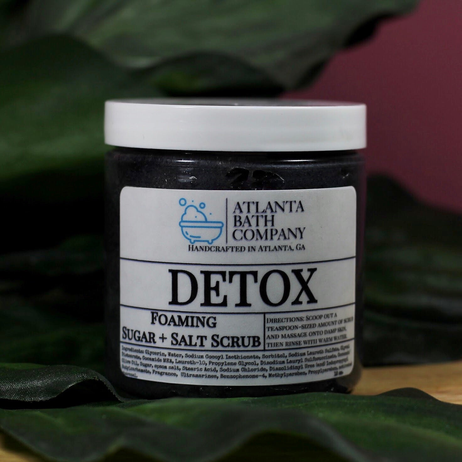 Detox Salt + Sugar Scrub