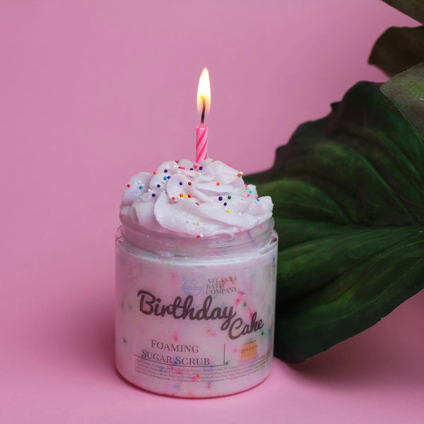 Birthday Cake Sugar Scrub