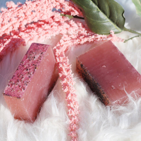 Strawberry Basil and Honey Shampoo Bar