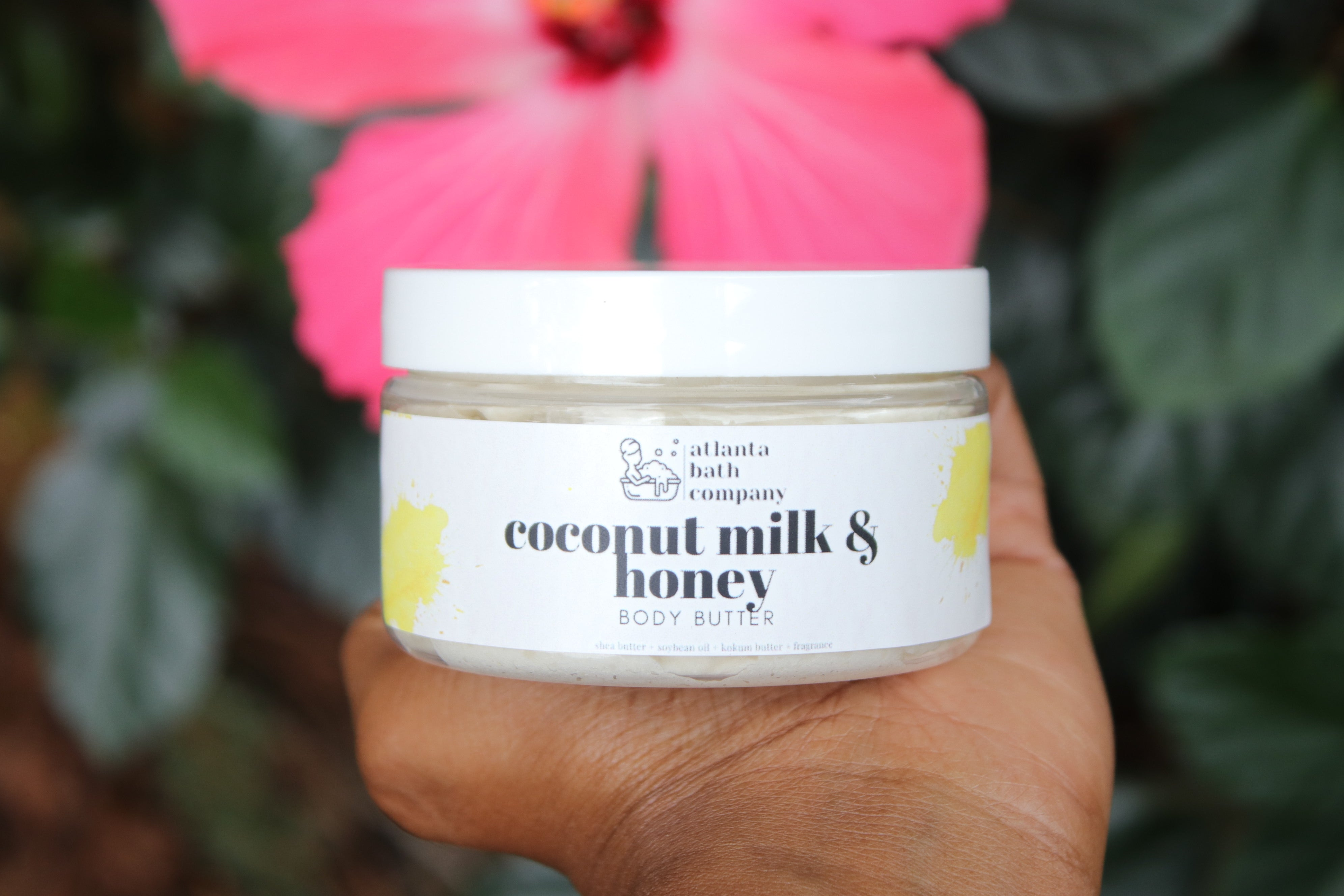 Coconut Milk and Honey Body Butter
