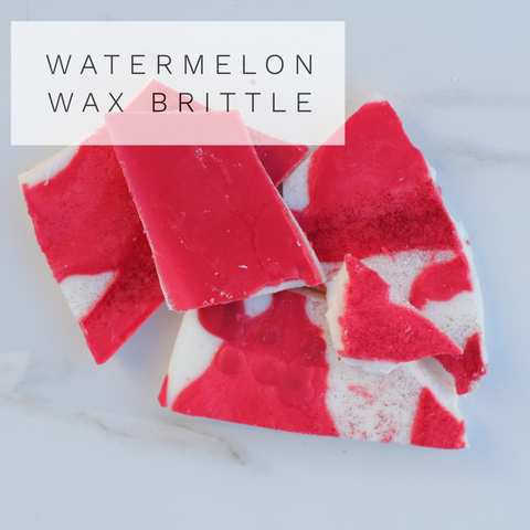 Watermelon Wax Brittle