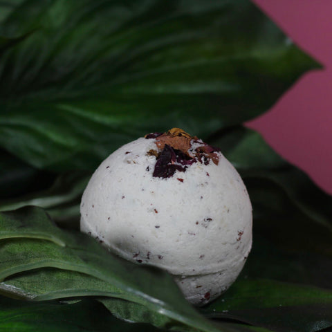 Coconut + Rose Bath Bomb