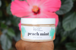 Peach Mint Body Butter