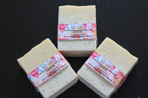 Lemon & Coconut Soap
