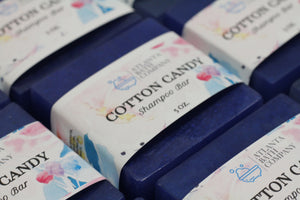 Cotton Candy Shampoo Bars