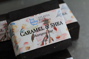 Caramel and Shea Shampoo Bar