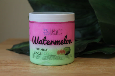 Watermelon Foaming Sugar Scrub