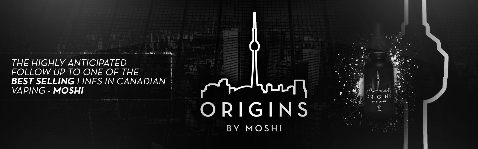 Origins By Moshi Premium E-liquid
