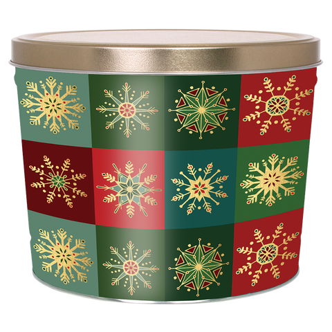 Glistening Gold - 2 Gallon Popcorn Tin