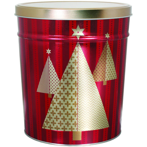 Christmas Tree - 3 Gallon Popcorn Tin