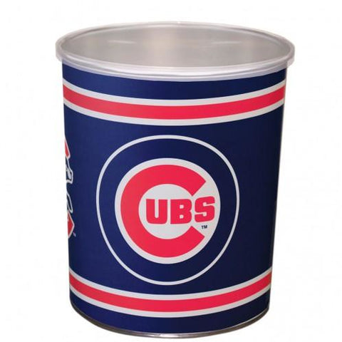 Chicago Cubs - 1 Gallon Popcorn Tin - Gourmet Popcorn