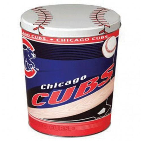 Chicago Cubs - 3 Gallon Popcorn Tin