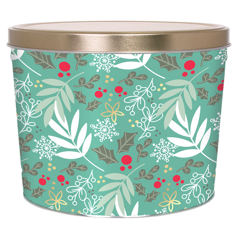 Winter's Charm - 2 Gallon Popcorn Tin