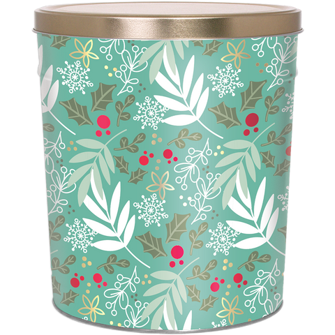 Winter's Charm - 3 Gallon Popcorn Tin