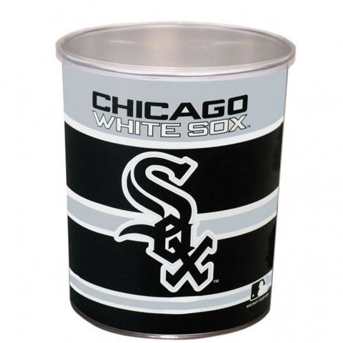 Chicago White Sox - 1 Gallon Popcorn Tin - Gourmet Popcorn