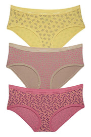 Hipster Printed Panty (Pack of 3) - AssortedColor