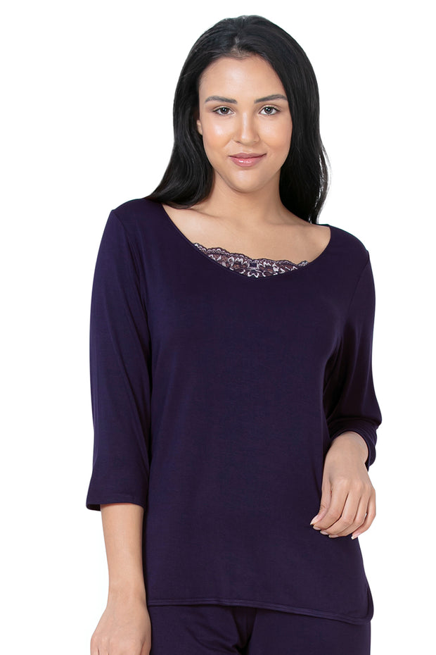 Lace Touch Sleep Top