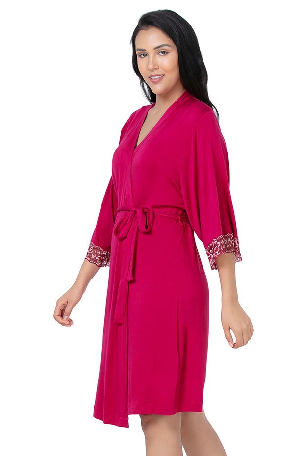 Lace Touch Sleep Robe