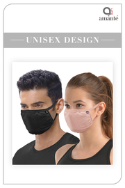 Soft Cotton Antimicrobial Mask (Pack of 5)