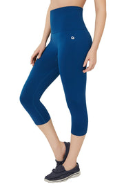 High Rise Sports Capri Pants