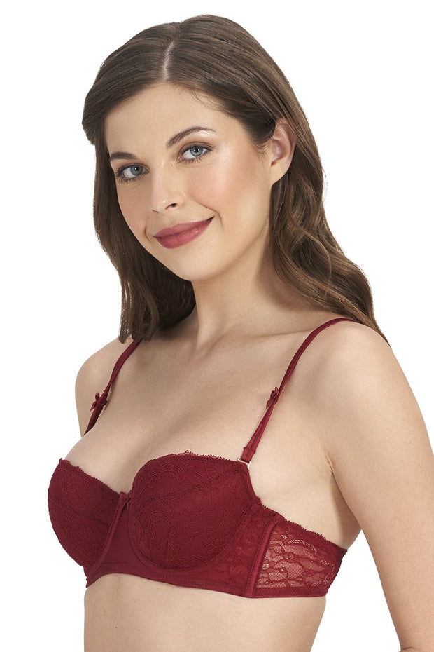 Beautiful Dreamer Padded Wired Balconette Bra