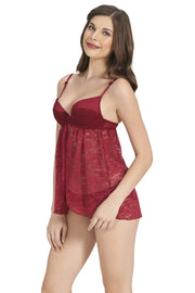 Beautiful Dreamer Padded Wired Babydoll