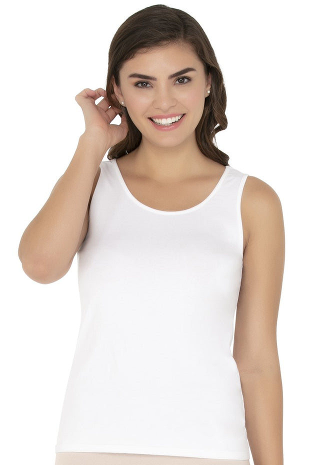 Tank Top-White Color
