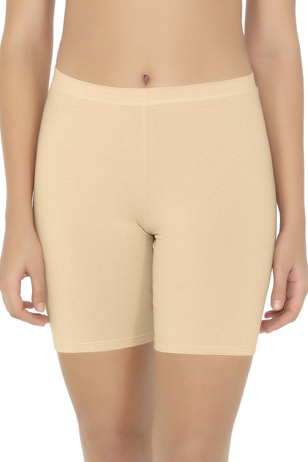 Cotton Shortie-Nude Color